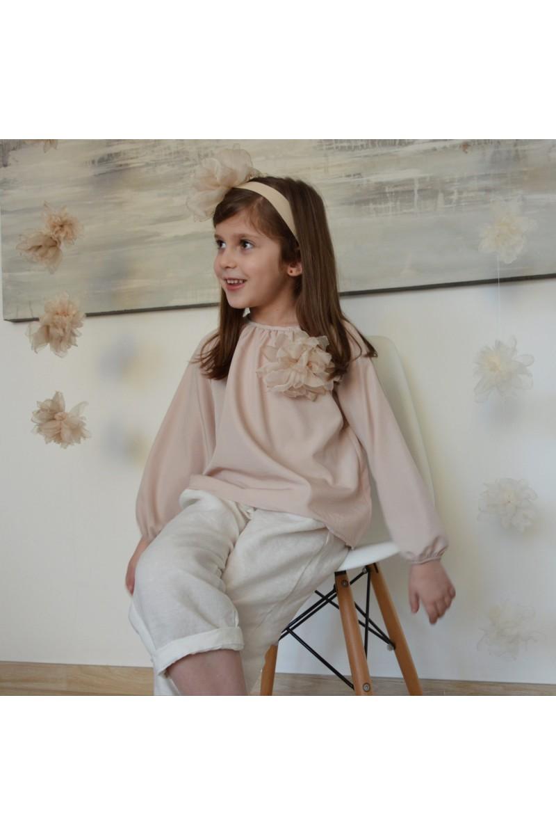 Nini' Kidswear - Camicetta rosa