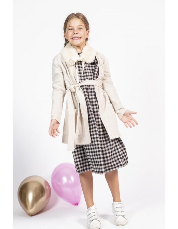 Nini' - Kidswear  Cardigan lungo caldo cotone