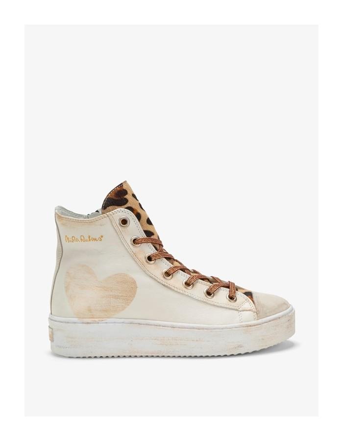 Sneakers Long Island - Cuore White Leo