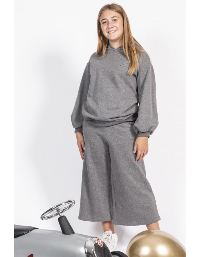 Souvenir - Pantalone largo e morbido grigio