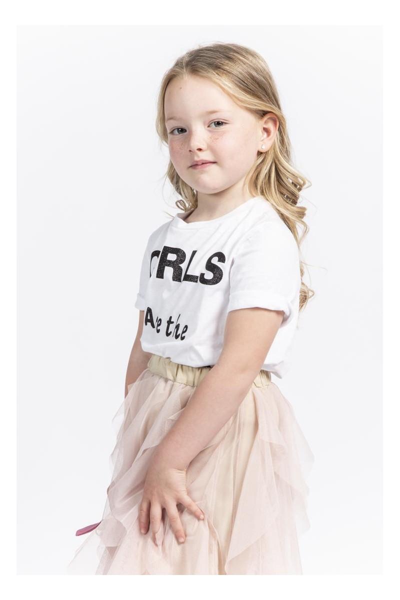 "Souvenir - T-shirt bianca stampa ""My Girl"""