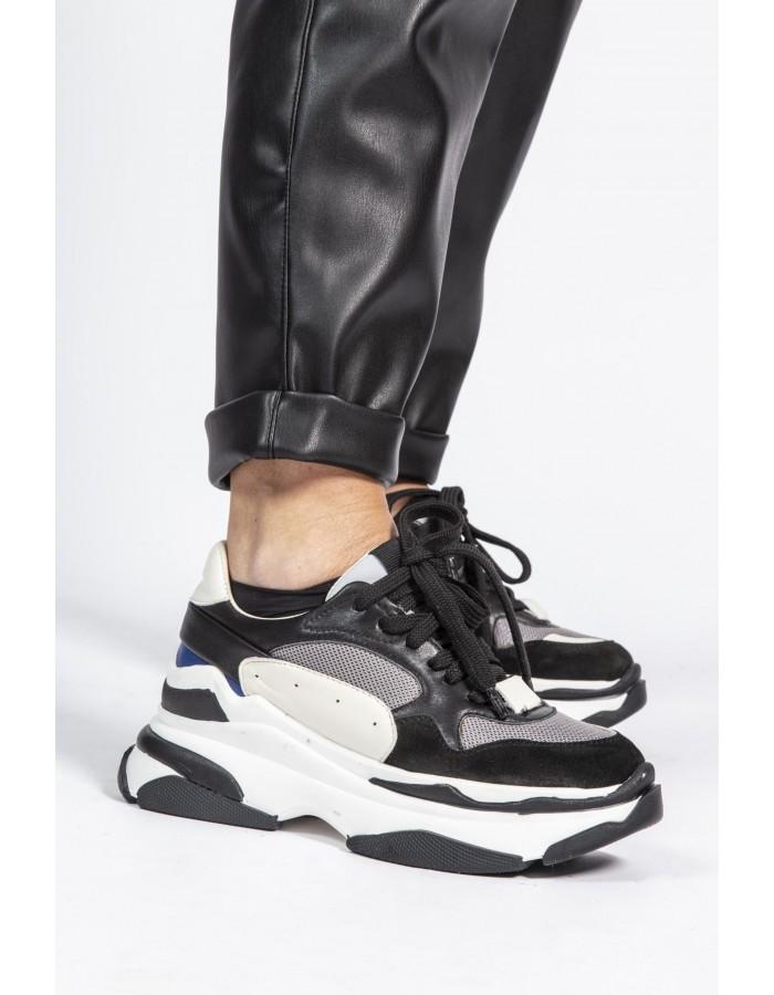Kate by laltramoda - Sneakers nere e bianche