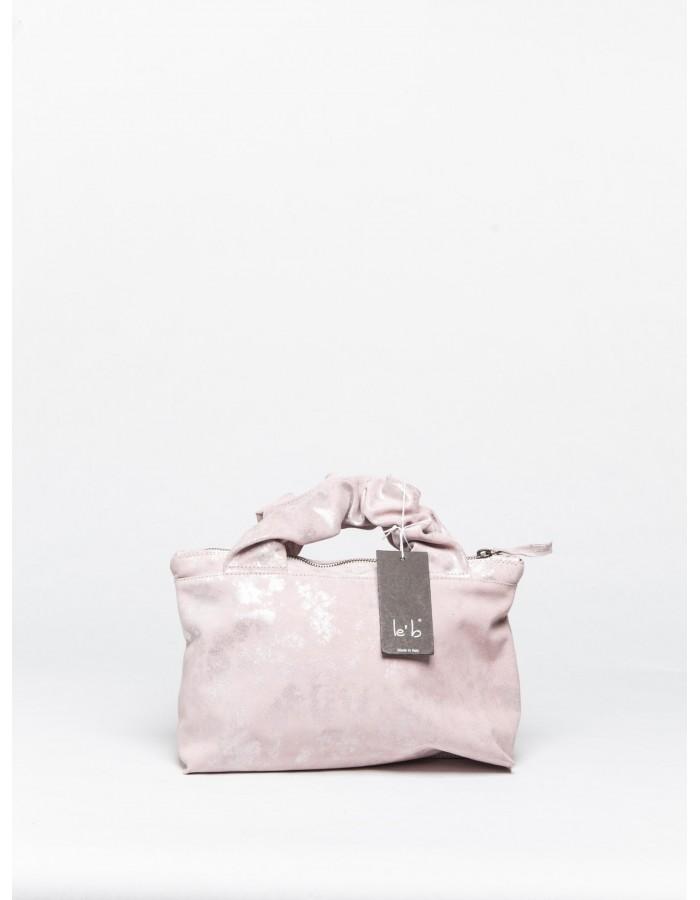 le' b. - Borsa Mietta Mini Rosa