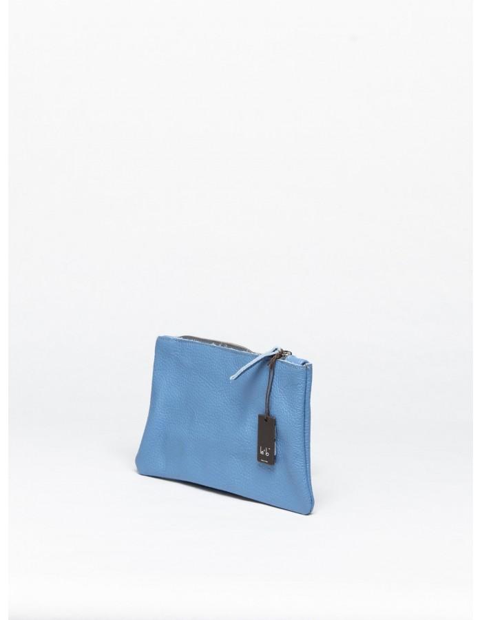le' b. - Portachiavi Busta Azzurro