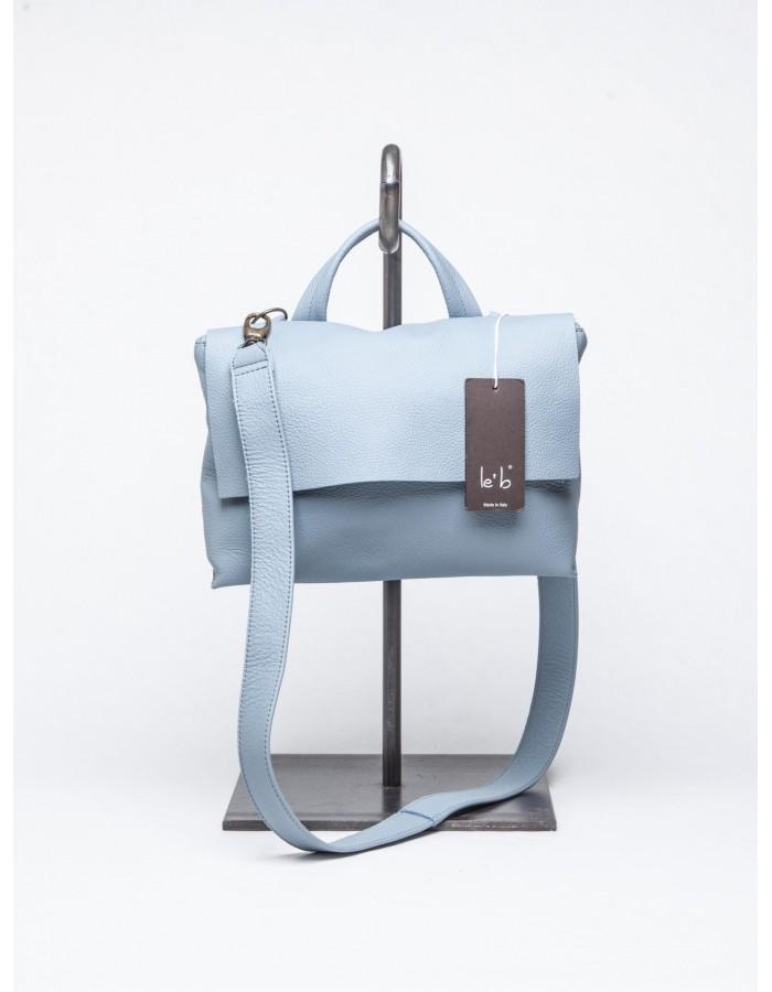 le' b. - Cartella 18 Mini Azzurro Polvere