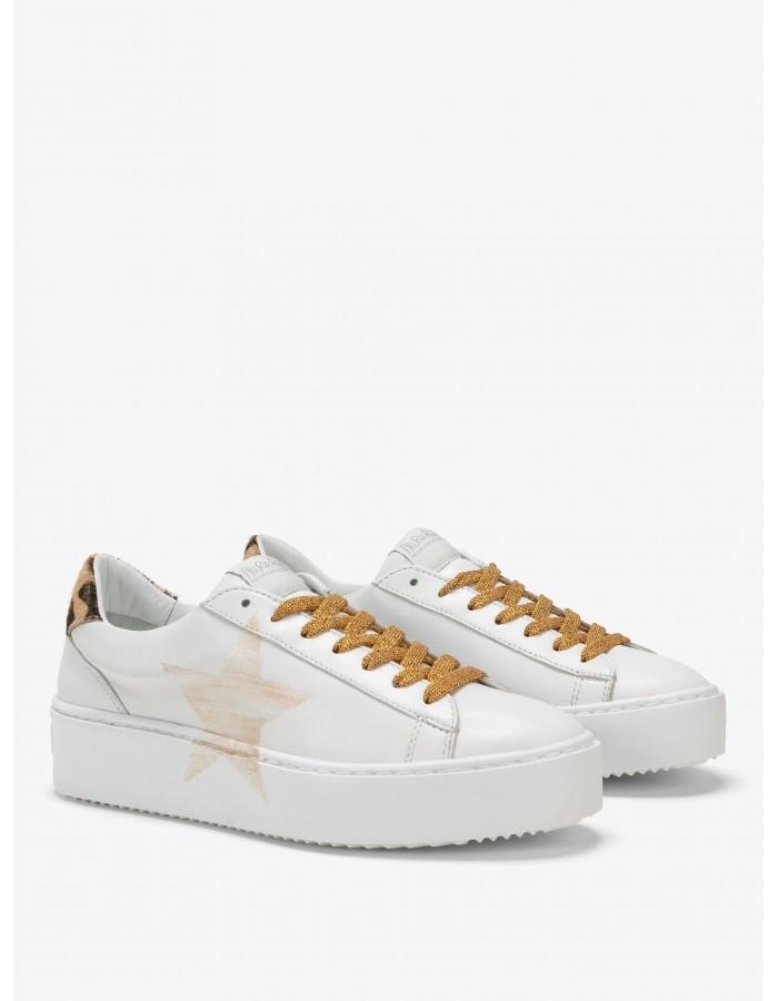 Nira Rubens Sneakers Cosmopolitan Africa - Stella Gold