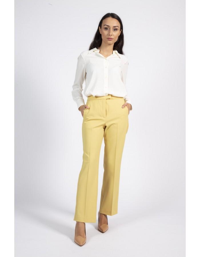 Pantalone maschile morbido giallo Beatrice B.